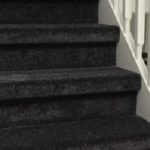 Trap bekleden aanbieding Rotterdam inclusief tapijt antraciet